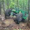 John Deere buggy on Top Rider
